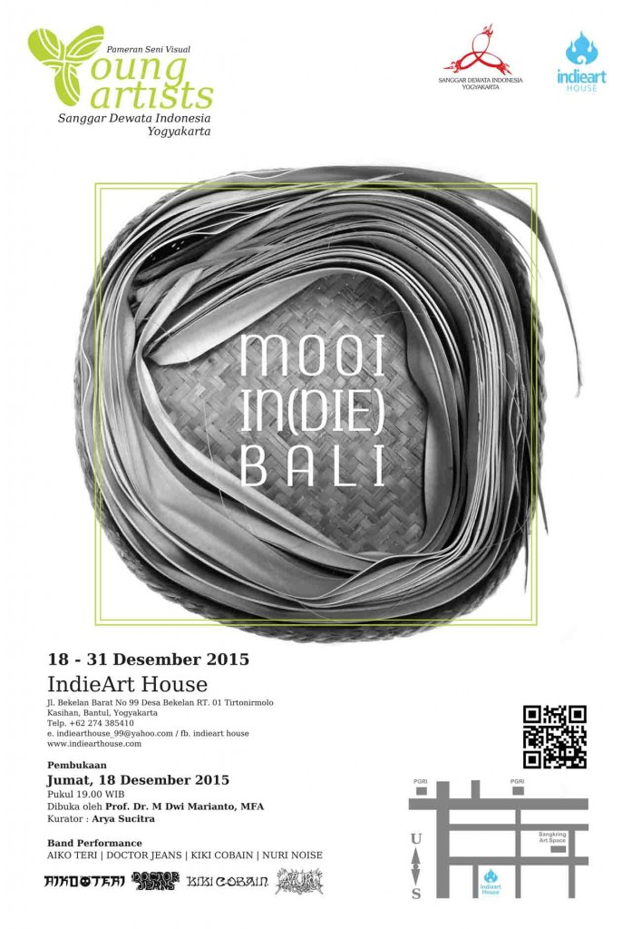 Pameran Seni Visual Young Artists Sanggar Dewata Indonesia (SDI) MOOI IN (DIE) BALI