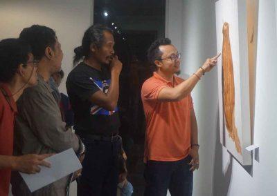 indieart house - Suasana Pameran TunggalI Kade Yudi Astawan (2)
