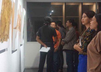indieart house - Suasana Pameran TunggalI Kade Yudi Astawan (4)