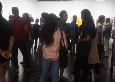indieart house - Suasana Pameran TunggalI Kade Yudi Astawan (5)
