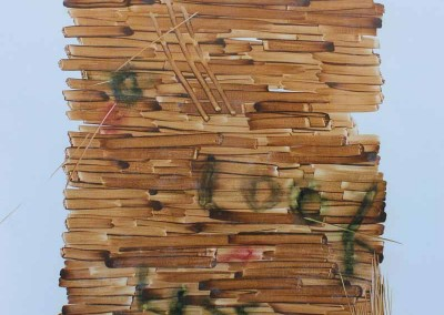 Me Look Kiss, 120 cm x 80 cm, cat minyak di kanvas,         2015