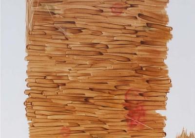 Terpinggir, 100 cm x 80 cm, cat minyak di kanvas, 2015,