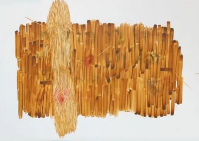 Ho-No-Co-Ro, 80 cm x 120 cm, cat minyak di kanvas, 2016
