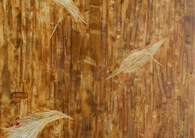 Mobilisasi Harga Diri #2, 100 cm x 80 cm, pensil, cat minyak di kanvas, 2016