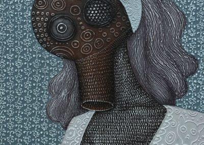 Bonny, 60x80cm, acrylic on canvas, 2017.