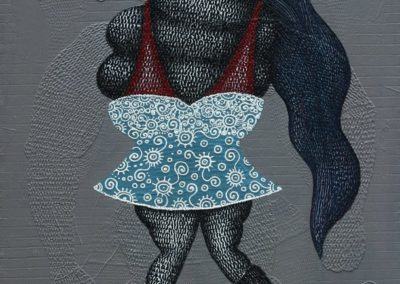 fatty sexy, 80x100cm, acrylic on canvas, 2015