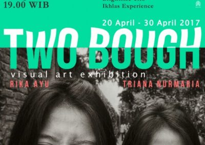 Pameran TWO-BOUGH in Indiert Housee ( Rika Ayu + Triana Nurmaria